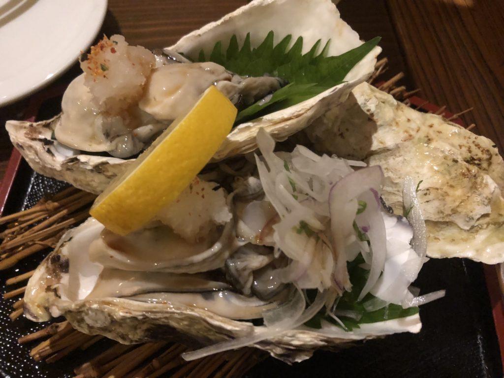 宮城の牡蠣(これが美味い)