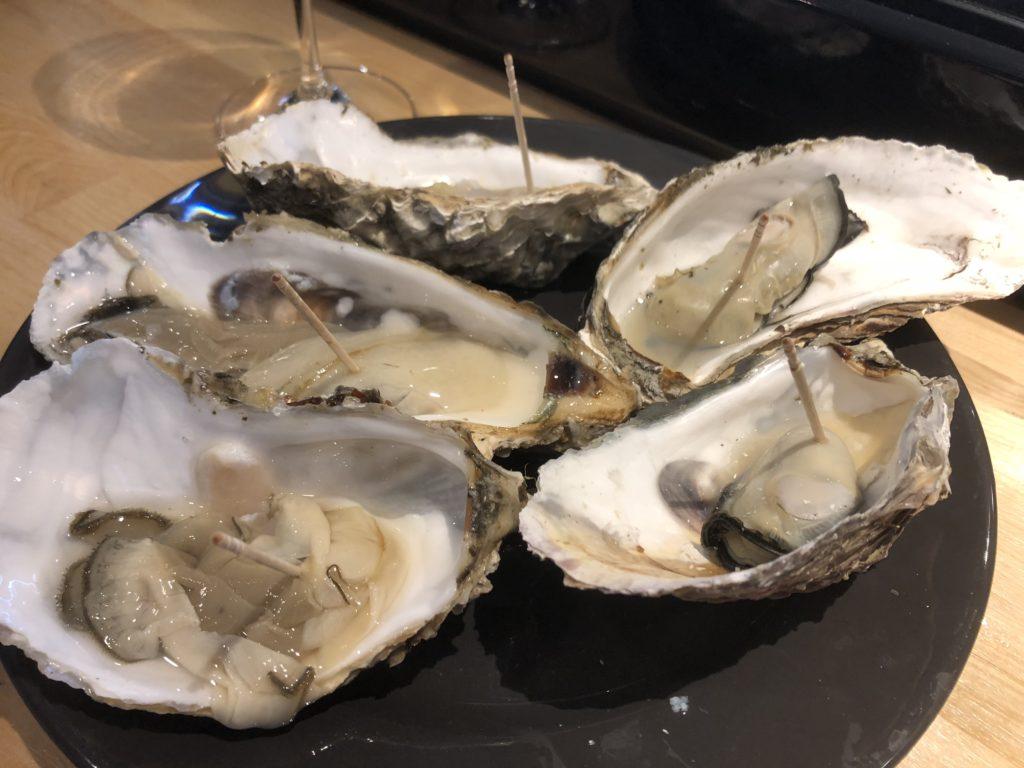 松島の牡蠣は、あっさりで美味い