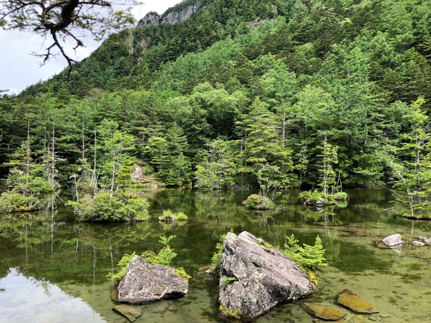 明神池(二之池)
